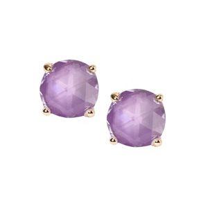 KATE SPADE • Lilac Enamel Gumdrop Earrings